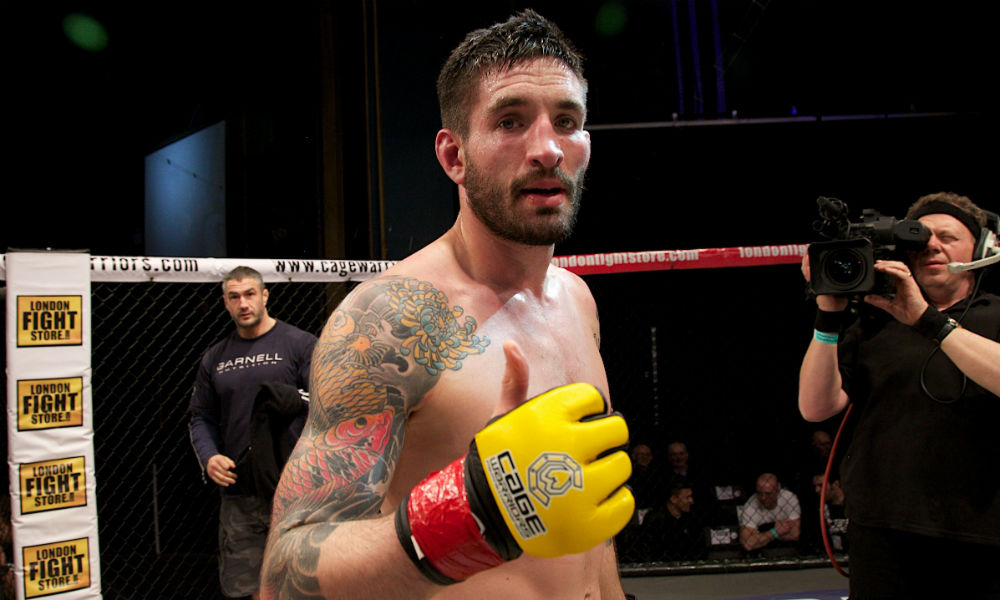 Matt Inman (Dolly Clew/Cage Warriors)