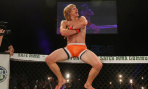 Paddy Pimblett at Cage Warriors 88