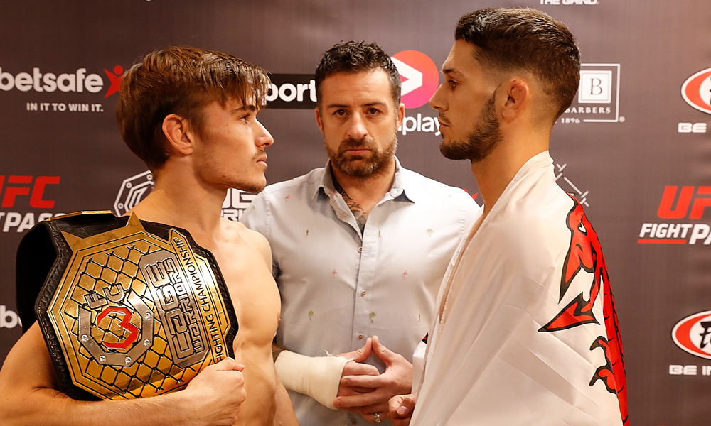 Cage Warriors 86 weigh in results