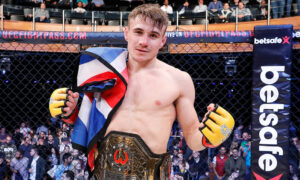 London's own Nathaniel Wood will fight in his home town as he puts his Cage Warriors title on the line for the first time against undefeated Welshman Josh Reed