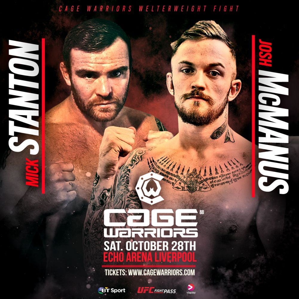 Josh McManus vs Mick Stanton, Cage Warriors 88